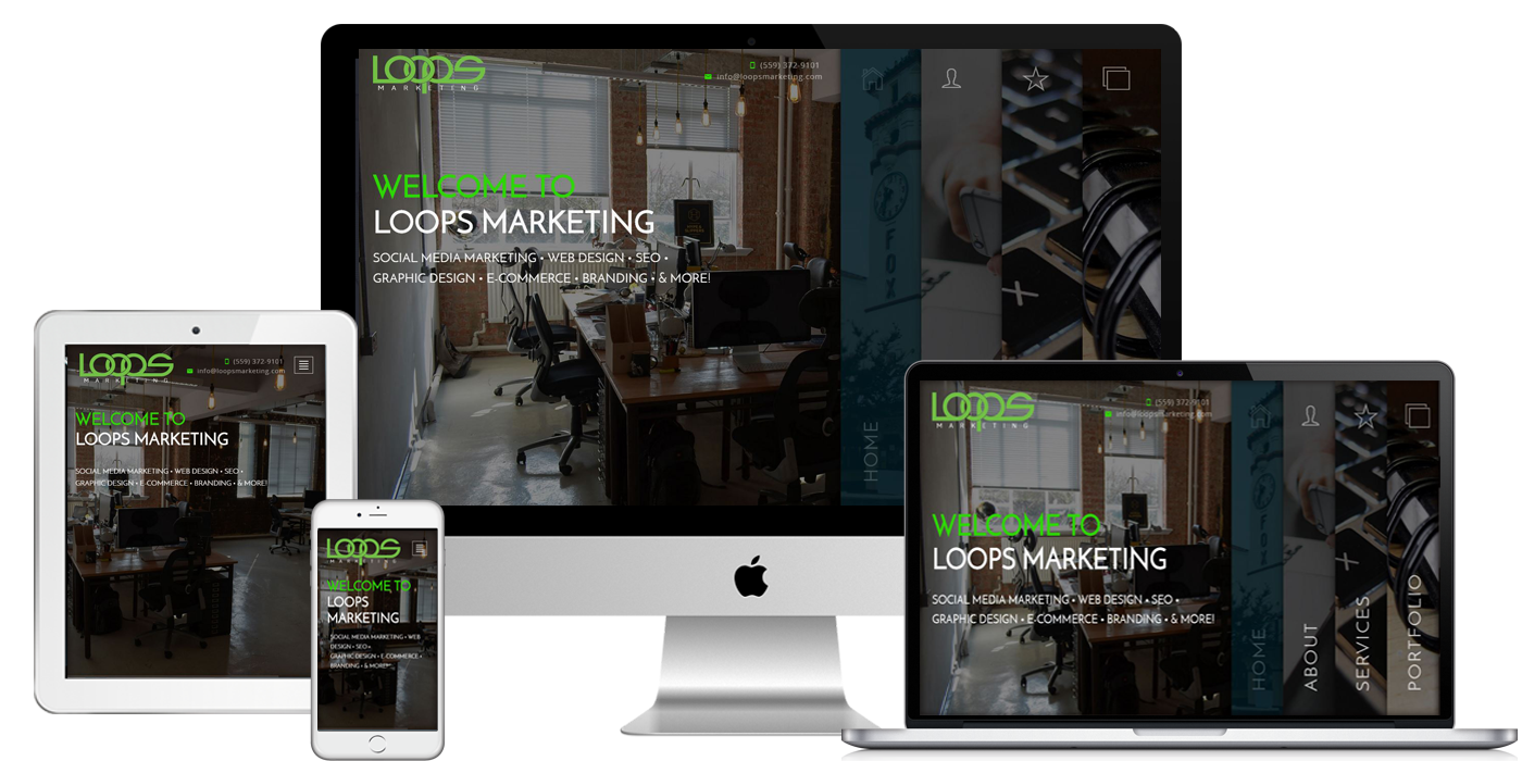 Web Design Loops Marketing